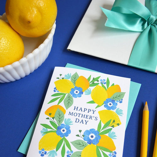 Happy Mother's Day Lemons card