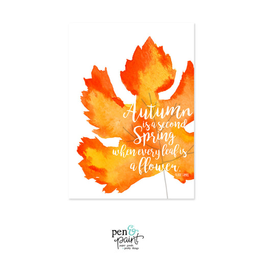 Free Autumn Printable