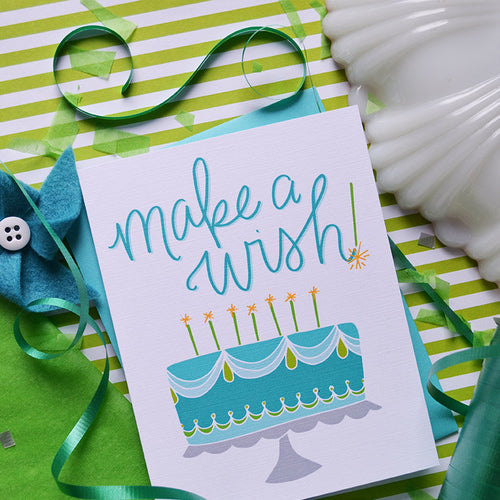 Make A Wish Birthday Card