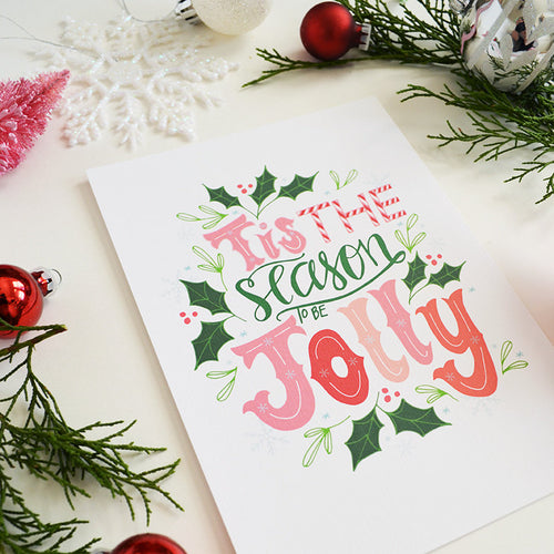 Tis the season to be jolly, Art Print