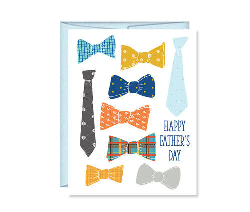 Happy Father's Day Bowtie card