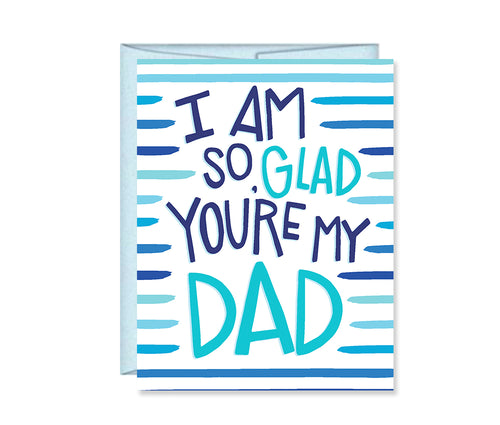 I'm So Glad You're My Dad card