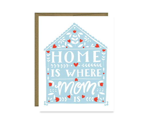 Home is Where Mom is Mother's Day Card MF424