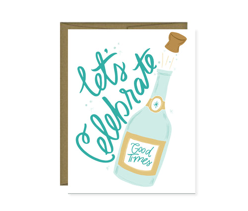 Let's Celebrate Champagne card