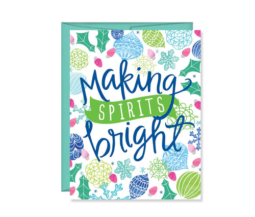 Making spirits bright, Christmas Card
