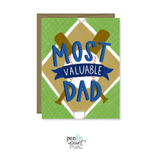 Most Valuable Dad, Father's Day Card