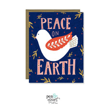 Peace on Earth Christmas / Holiday card