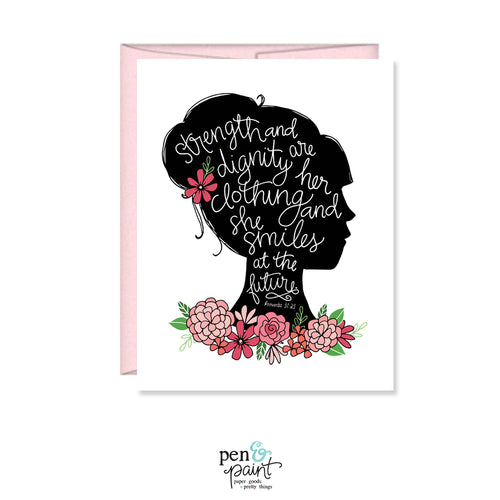 Proverbs 31 Woman, Mother's Day Card MF451