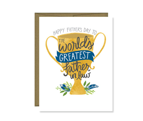 Happy Father's Day to the World's Greatest Father-in-Law card