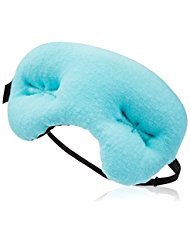 Bodyhealt Pain Relief Compression Sleeping Mask | Breathable Cotton Eye Pillow With Adjustable Strap & Massaging Beads | Soothe Puffy Eyes & Redness, Eliminate Headaches & Block Out Lights (Teal)