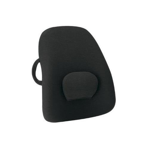 Ergonomic Orthopedic Back Support Backrest - Improves Posture, Relieves Back Pain & Discomfort, Includes Adjustable Lumbar Pad - by BodyHealt BHLS101