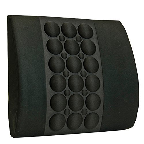 BodyHealt Bodyhealt Back Cushion with Ergopressue Technology & Magnet Therapy for Office, Home & Auto