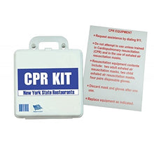 Load image into Gallery viewer, BodyHealt CPR Kit State of New York Restaurants With Sign