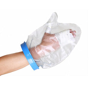 "BodyHealt Adult Cast & Bandage Protector - Waterproof - Watertight Protection - (Hand 13"" (5.75"" Ring))"