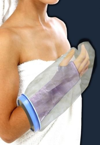 BodyHealt Adult Cast & Bandage Protector - Waterproof - Watertight Protection - (Short Arm 22