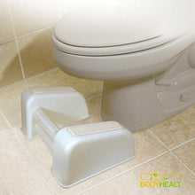 Load image into Gallery viewer, BodyHealt Squatting Bathroom Toilet Stool Footrest - 7.75 Inch Height