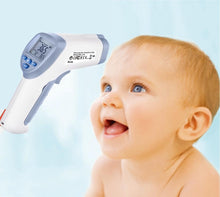 Load image into Gallery viewer, Digital Forehead Inrared Thermometer - No Touch Quick Reading Temperature Gun With LCD Display, Measures all types of Surface In Celsius & Fahrenheit - By BodyHealt