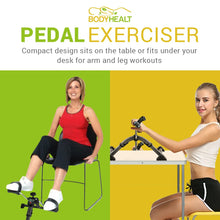 Load image into Gallery viewer, BodyHealt Pedal Exerciser - Fold Up - Digital Display