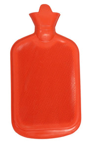 BODYHEALT Premium Classic Rubber Hot Water Bottle, 5 Ounce