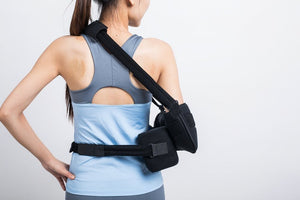 BodyHealt Shoulder Sling - with Abduction Pillow - Arm Sling Immobilizer - Surgery & Broken Arm -