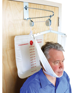 BodyHealt Overdoor Cervical Traction Set - Neck Disk Relief - Complete Kit