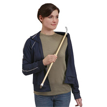 "Load image into Gallery viewer, BodyHealt 28"" Long Dressing Stick with Zipper Puller"