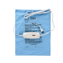 "Load image into Gallery viewer, BodyHealt 4-Setting Microplush/SoftTouch Heating Pad - Moist/Dry - Auto Off (12""x15"")"