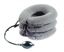 Load image into Gallery viewer, BodyHealt Cervical Neck Traction Device - Inflatable & Adjustable Neck Stretcher Collar Pillow - Great for Chronic Neck, Back & Shoulder Pain Relief