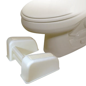 BodyHealt Squatting Bathroom Toilet Stool Footrest - 7.75 Inch Height