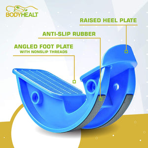 BodyHealt Foot Rocker Calf, Ankle & Foot Stretcher - Reduces Pain, Caused by Plantar Fasciitis, Achilles Tendonitis, and Tight Calf Pain