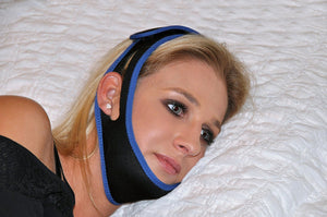 BodyHealt Adjustable Anti Snore/CPAP Chin Strap & Anti Snoring Solution Designed to Stop Snoring Naturally
