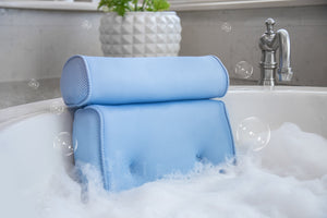 BodyHealt Spa Bath Kit - Home Spa Jacuzzi Bath Set - Gentle Massage Jet and Bath Spa Pillow Combo by Bodyhealt