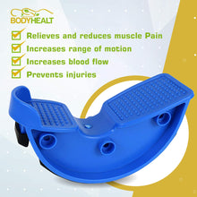 Load image into Gallery viewer, BodyHealt Foot Rocker Calf, Ankle & Foot Stretcher - Reduces Pain, Caused by Plantar Fasciitis, Achilles Tendonitis, and Tight Calf Pain