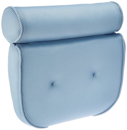 BodyHealt Home Spa Bath Pillow - Ergonomic Neck, Shoulder & Back Support While in the Tub - Two Panel, Luxury Foam with Non-slip Suction Cups, Perfect Home Gift