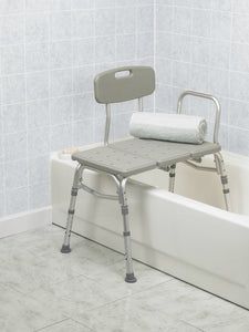 BodyHealt Adjustable Height Tub Transfer Bench with - Suction Cups to Provide Added Safety