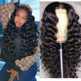 Loose Deep Wave Wig-150% Density,13x6 Lace Front Wig, 360 Lace Frontal Wig, Full Lace Wig - Estelle Wig