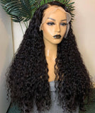 Customized Long Length 13x4 Lace Front Wig