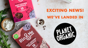 We're in Planet Organic!