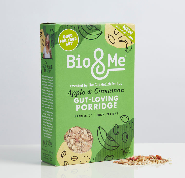 APPLE & CINNAMON GUT-LOVING PREBIOTIC* PORRIDGE (450g)