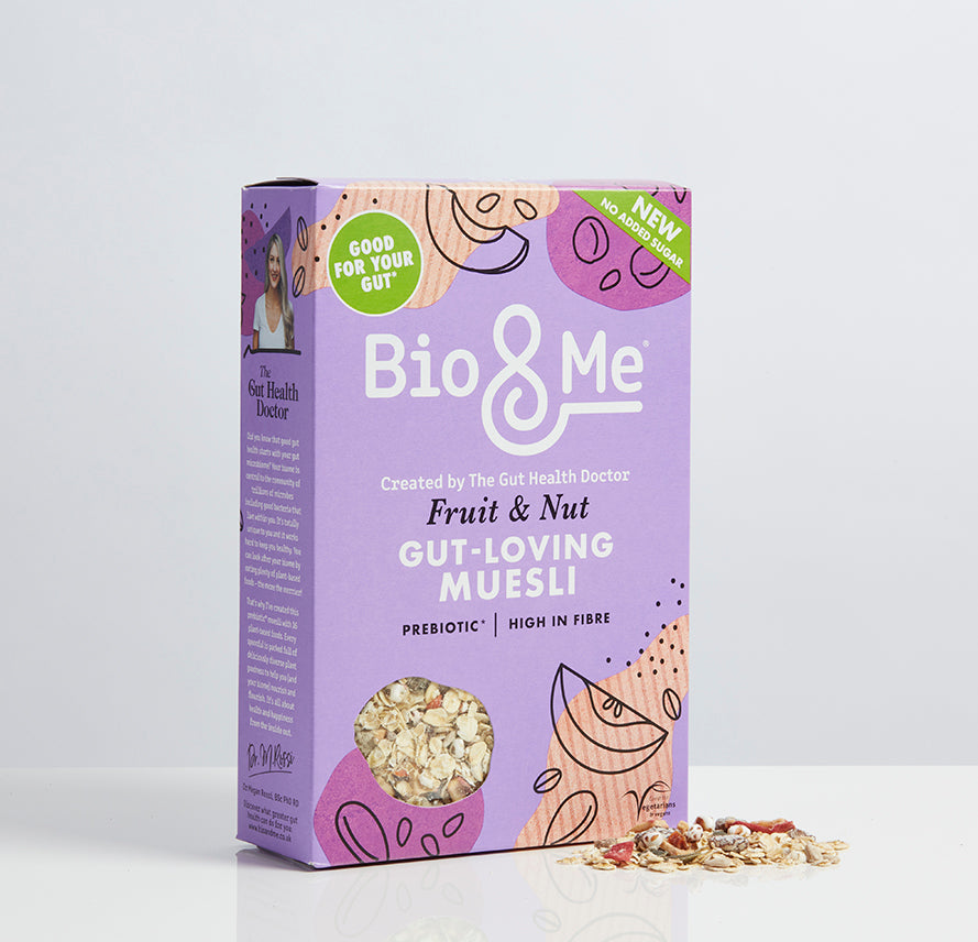 FRUIT & NUT GUT-LOVING PREBIOTIC* MUESLI (450g)