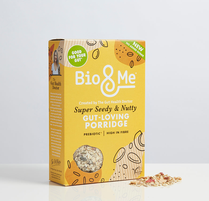 SUPER SEEDY & NUTTY GUT-LOVING PREBIOTIC* PORRIDGE (450g)