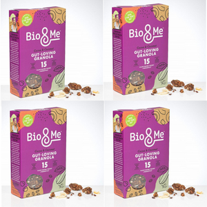 4-Pack Bundle - Cocoa & Coconut Gut-Loving Prebiotic* Granola