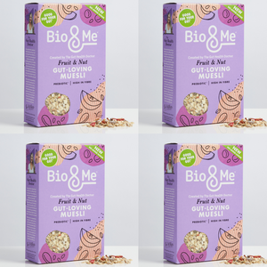 4-Pack Bundle - Fruit & Nut Gut-Loving Prebiotic* Muesli