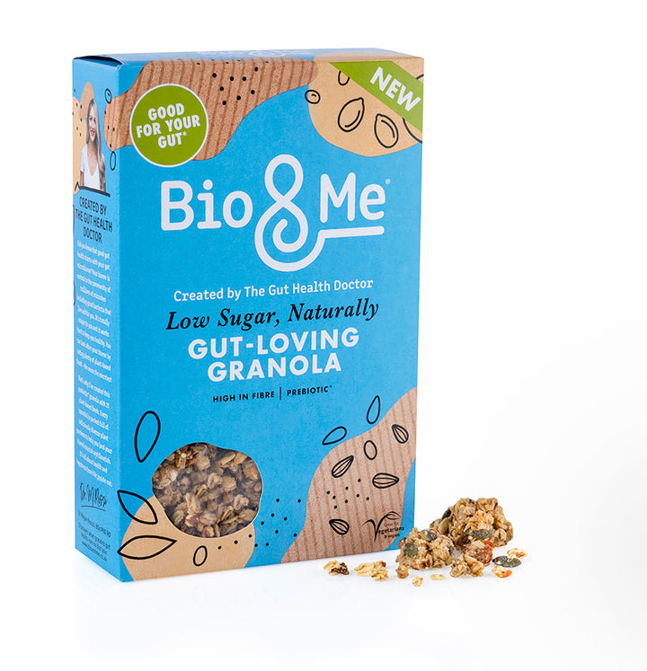 Low Sugar, Naturally Gut-Loving Prebiotic* Granola (360g)