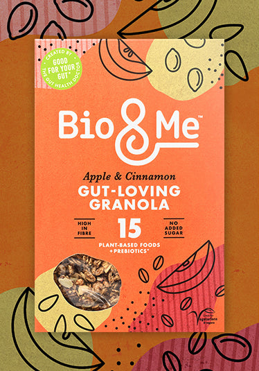 APPLE & CINNAMON GUT-LOVING PREBIOTIC* GRANOLA (360g)