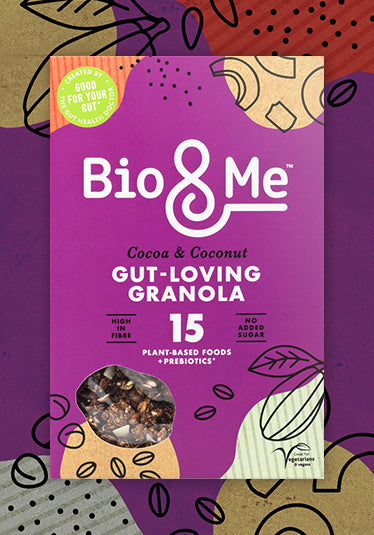 COCOA & COCONUT GUT-LOVING PREBIOTIC* GRANOLA (360g)