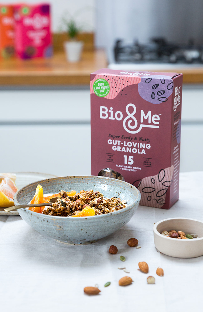 Bio&Me Gut-loving granola in super seedy and nutty flavour
