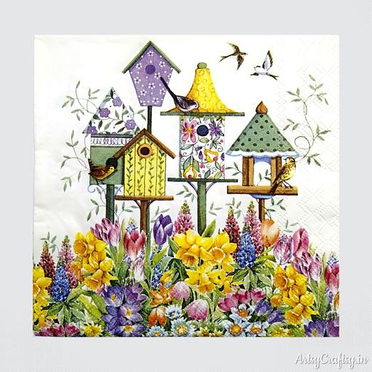 Top 10 Recommended Decoupage Tissue Design
