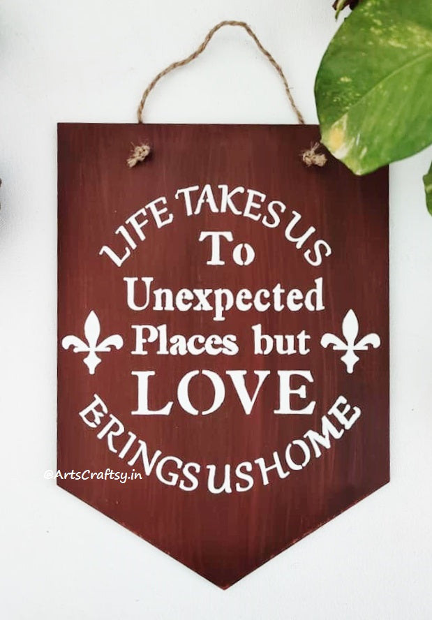 AC-03: Beautiful sentiment wall decor