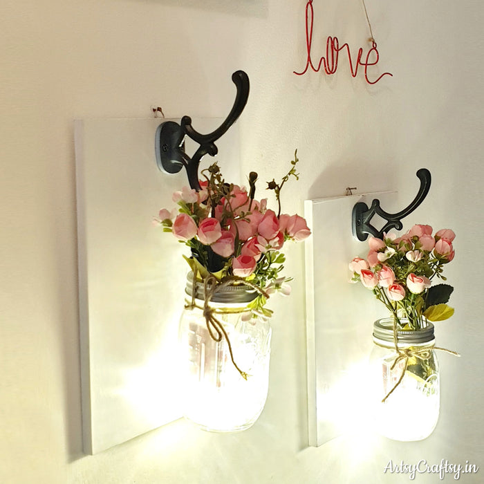 Artificial Flower Wall Decor